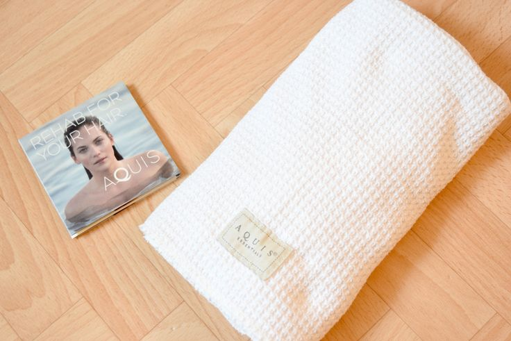 Waffle Luxe Aquis Hair Towel