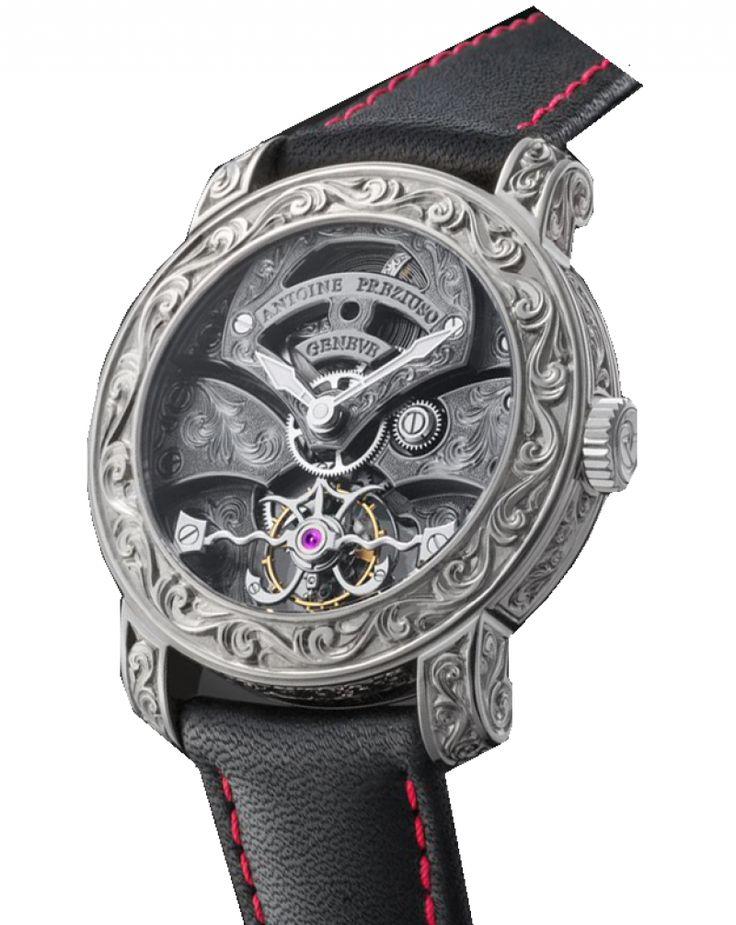 Часы Antoine Preziuso WG Round Tourbillons Skeleton
