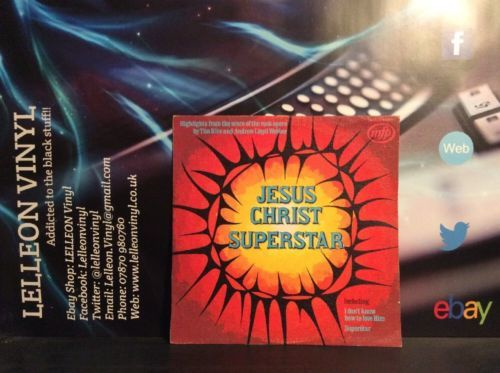 Highlights Of Jesus Christ Superstar MFP5280 Musical 70's Andrew Lloyd Webber Music:Records:Albums/ LPs:Soundtracks/ Themes:Musicals