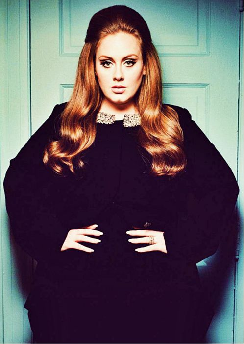 adele: Girls Crushes, Curvy Girls, Plus Size Fashion, Big Hair, Retro Style, 60S Style, Beautiful People, Plus Size Clothing, Adele
