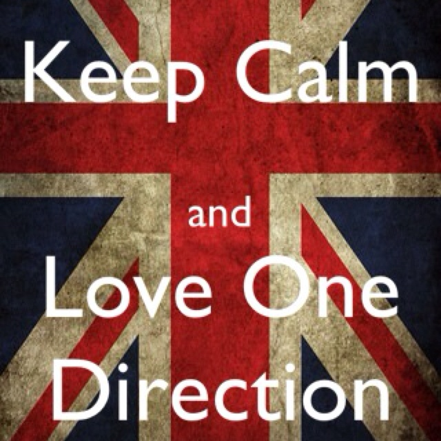 Love 1D!!!! Made this with an keep calm app on iTunes
