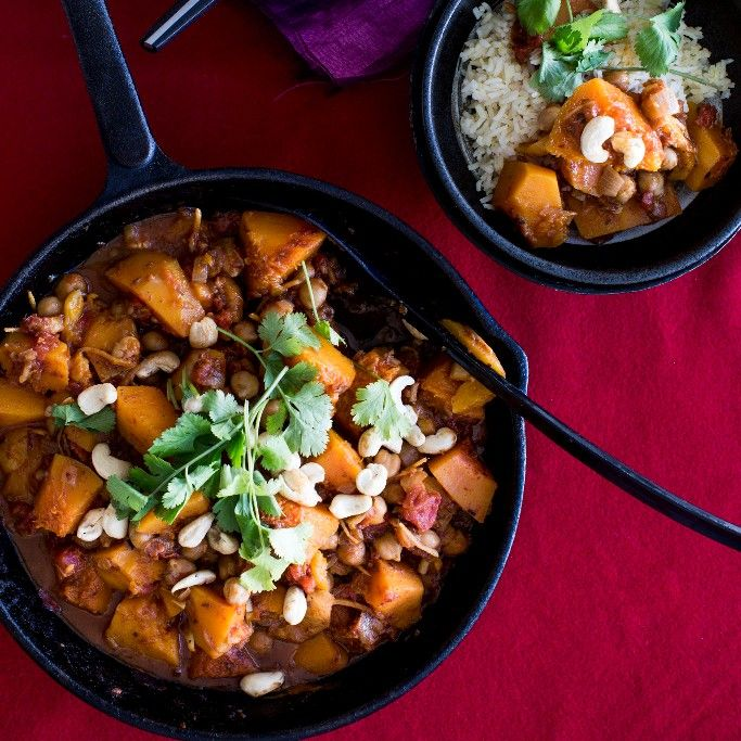 Moroccan Butternut Curry By Nadia Lim