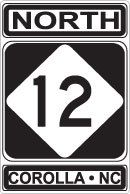 OBX Store Dot Com - ROUTE 12 NORTH COROLLA HIGHWAY SIGN, $19.99 (http://www.obxstore.com/souvenirs-gifts/route-12-north-corolla-highway-sign/)