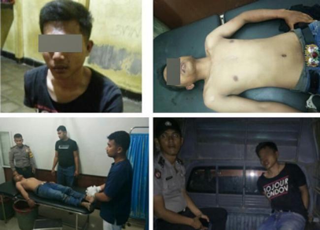 Pekaitan-Rohil, Oketimes.com - Kepolisian Sektor Bangko, mengamankan seorang pelaku curanmor, Minggu 19 November 2017 sekira pukul 21.00 WIB malam.  Pelaku diketahui IN alias