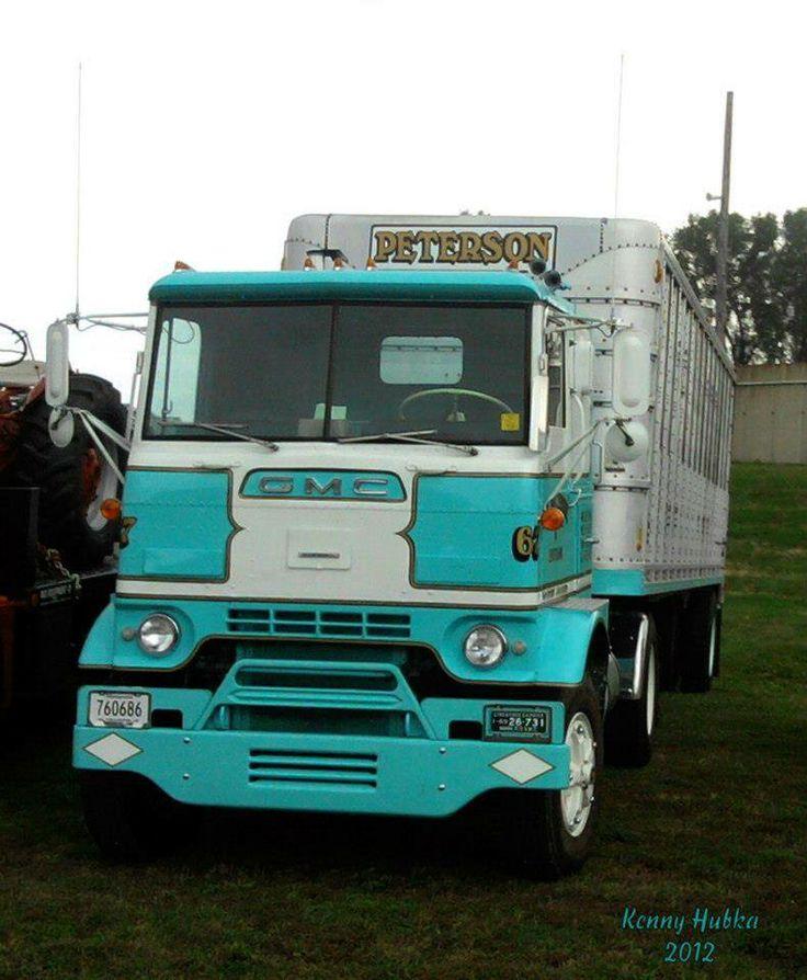 432 best gmc bigtrucks images on pinterest semi trucks vintage trucks and biggest truck. Black Bedroom Furniture Sets. Home Design Ideas