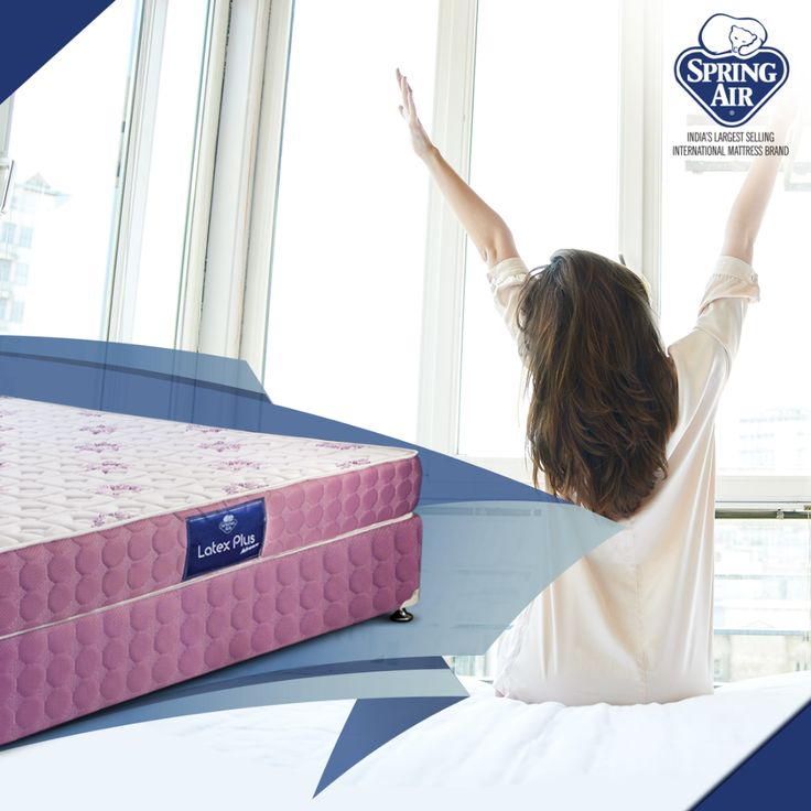 Orthopedically recommended, the Latex Plus Advance mattress exudes luxury coalesced with comfort and stress-free relaxation. View our mattresses at http://springair.in/ #SpringAir #AlwaysComfortable #Relax