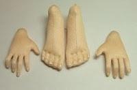 The Best FREE Craft Articles: Fingernail & Toenail Free Tutorial by Deanna Hogan of Blue Heron Dolls