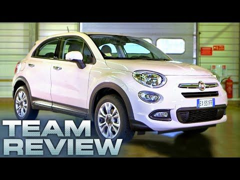 The Fiat 500X (Team Review) - Fifth Gear - YouTube