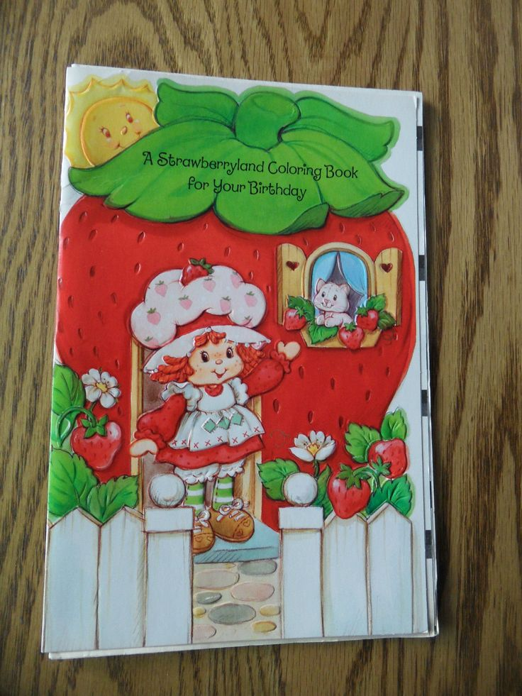 16 best Birthday Cards images – Strawberry Shortcake Birthday Card