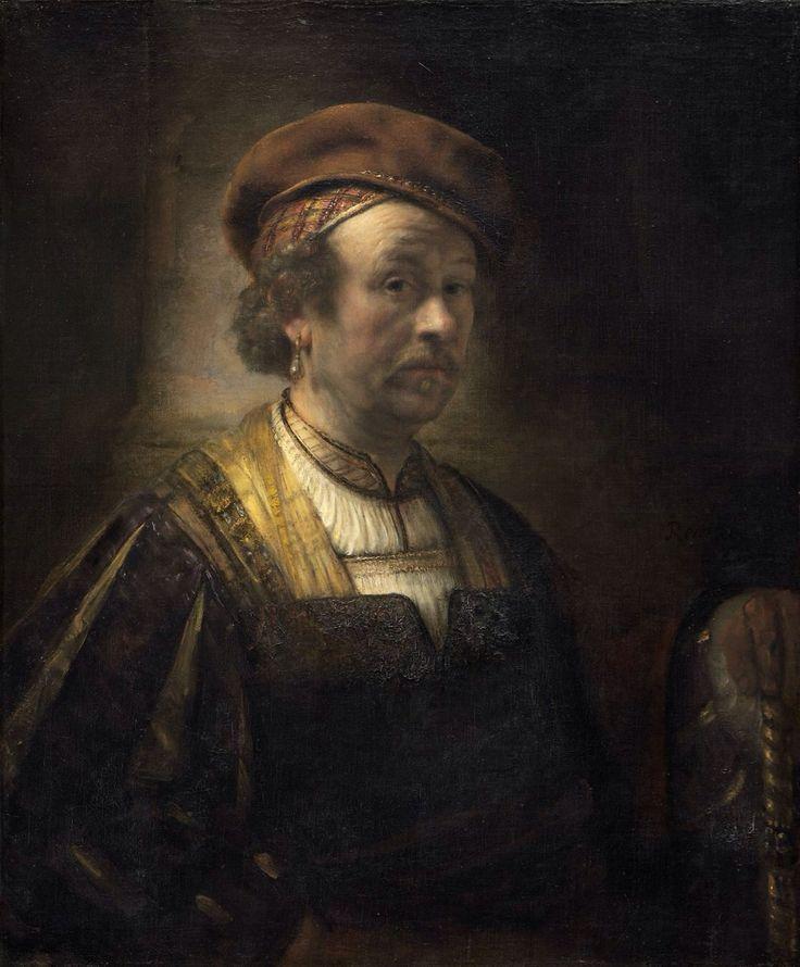 Rembrandt Workshop - Portrait of Rembrandt