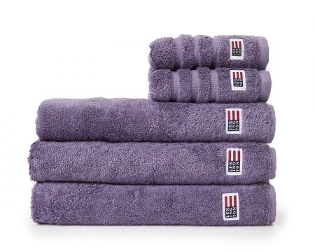 Original Towel Mulled Grape. Fall News for your bathroom. Lexington soft and heavy terry towel in 600 g combed cotton.
