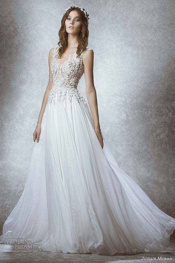 Zuhair Murad Bridal Fall 2015 Wedding Dresses