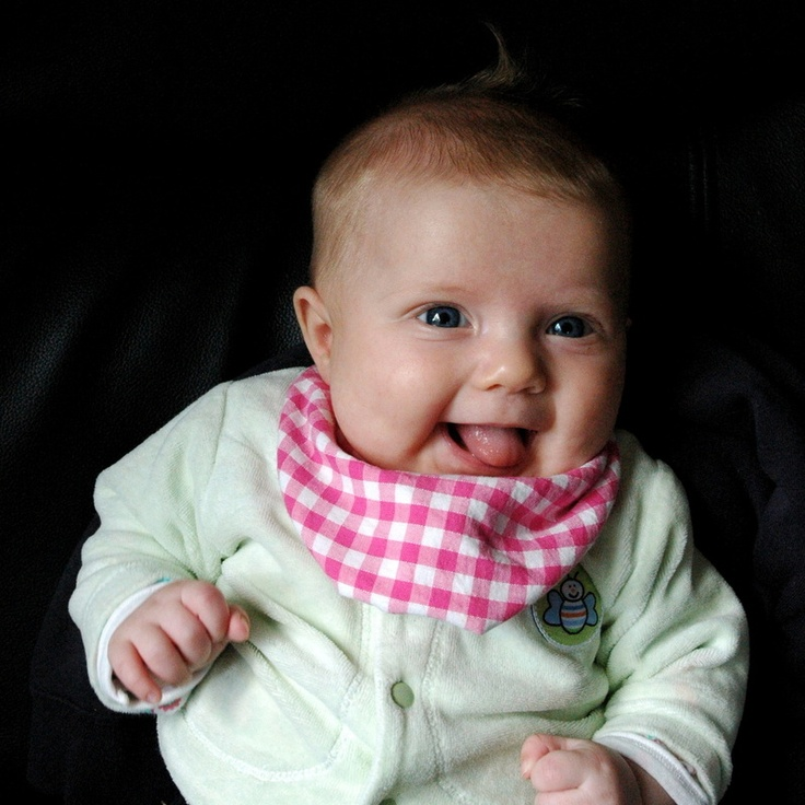 Love these 'dribble' bibs from Petit Bebe