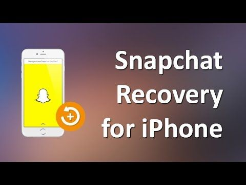 This video is about how to recover Snapchat photos and videos from iPhone. If you are looking for a guide on iPhone Snapchat Recovery, this video will certainly be helpful.