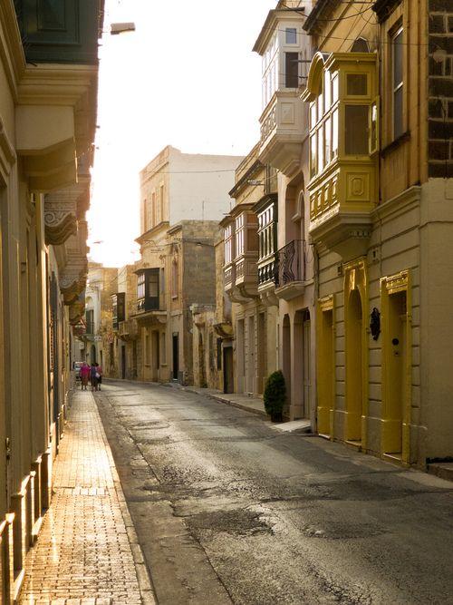 Streets of Victoria, Gozo, Malta, by Michele Solmi
