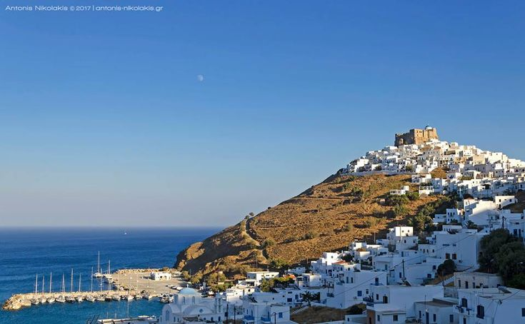 Panoramic view of Chora before sunset! www.astypalaia-island.gr #astypalaia #astipaleagram #greece #travel #travelgram #aegeansea #dodecanese #visitgreece