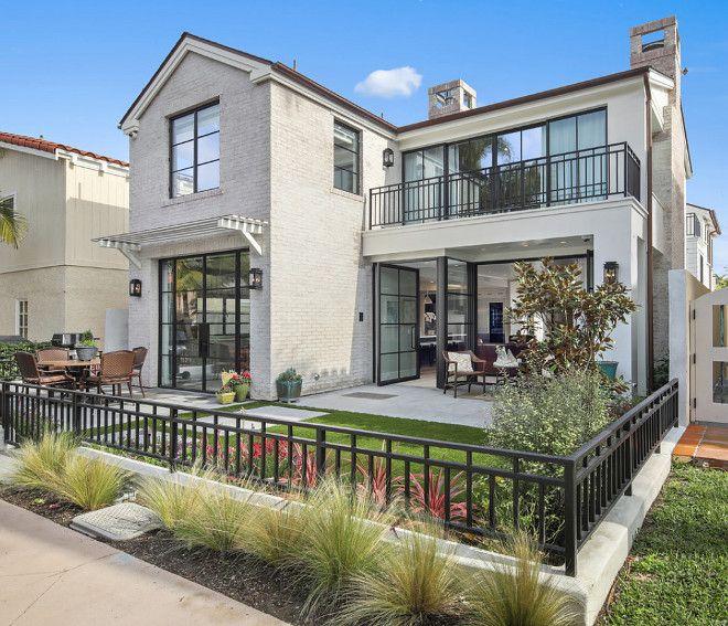 California Modern Farmhouse Style Beach House