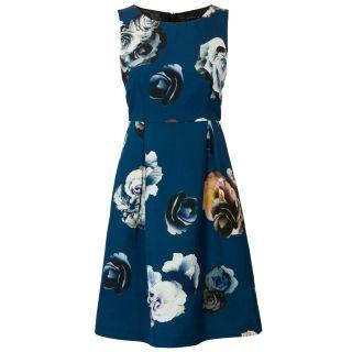 Stijlvolle A-lijn jurk Donker blauw