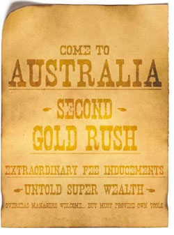 Australia's gold rush 1841