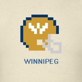 8-Bit Winnipeg Blue Bombers