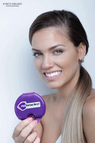 Rocio Robles alineando su sonrisa con nosotros! #nobracks #OrtodonciaInvisible Rochi Robles