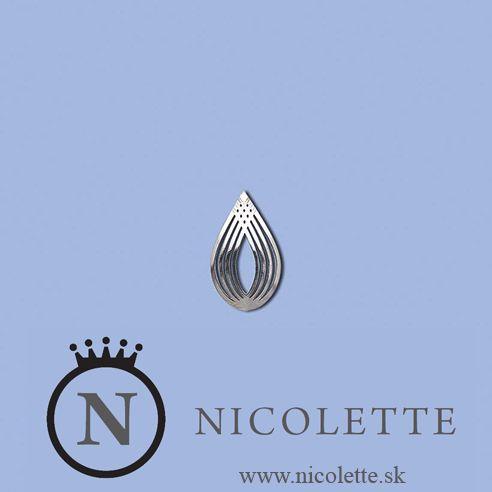 Strieborné náušnice v tvare kvapky z kvalitného striebra budú ozdobou uší každej ženy či dievčiny.