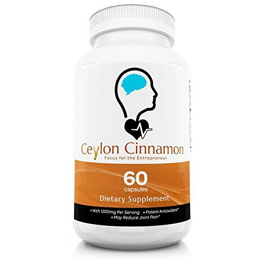 #Ceylon True #Cinnamon from Sri Lanka, Manufactured in the USA. All Natural and the best Cinnamon #supplement in the market loaded with powerful #antioxidants, such as #polyphenols protect the body from oxidative damage caused by free radicals.