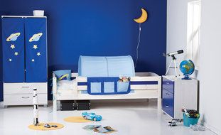 Thuka Trendy 10 Single Bed with Safety Rails