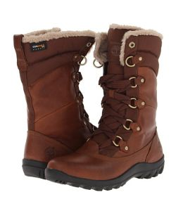 Mount Hope by Timberland These women's waterproof boots are made with premium leather and created for the women who intends to look stylish on her outdoor trips in the snow.