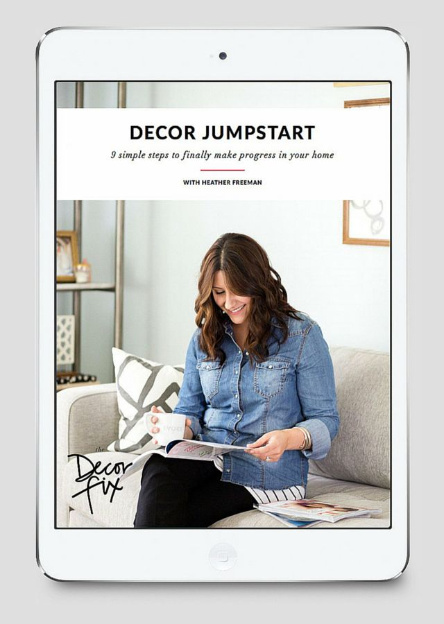 Do you feel overwhelmed by decorating? THIS can help!
