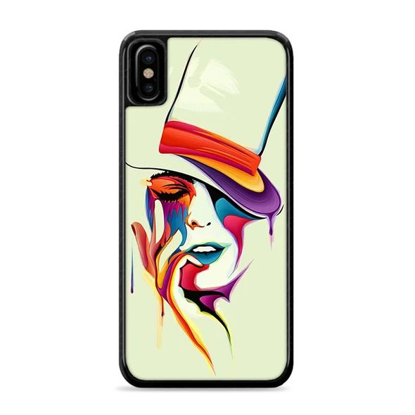 Woman Abstract Wallpaper IPhone XS Max Case
