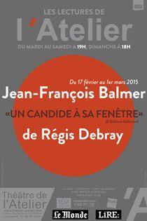 Après Dominique Blanc qui avait convaincu un public séduit par ce cycle de lectures proposé par le nouveau directeur du théâtre de l'Atelier, Didier Long, revenant sur « Les Années » d'Annie Ernaux, qui sont un peu les nôtres aussi, c'est au tour de Jean-François...