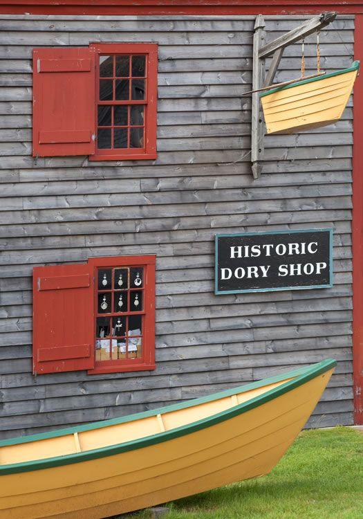 Dory Shop, Shelburne, Nova Scotia, Canada; photo by Darrell Staples