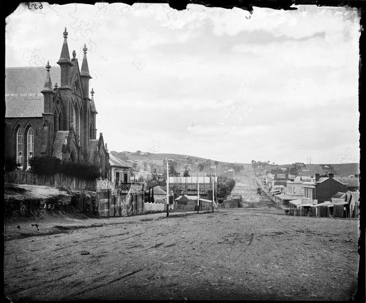Castlemaine Australia 1800s Lyttleton St