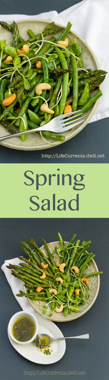 Spring Salad; an ode to spring, with all the best freshness that spring has to offer.