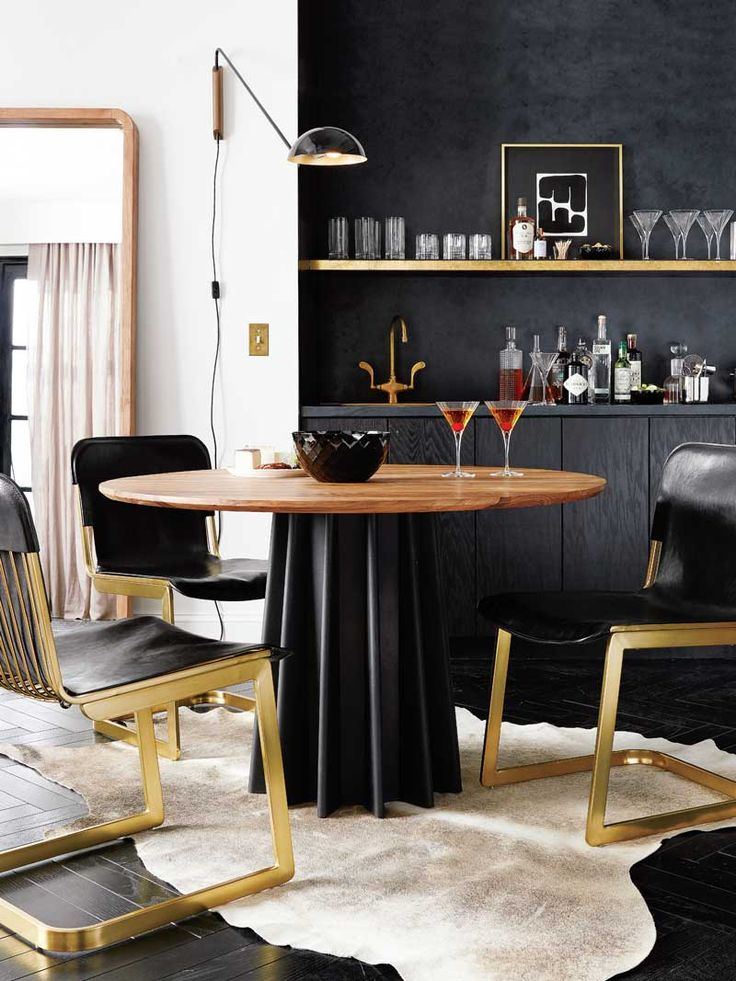 17 Best Ideas About Gold Dining Rooms On Pinterest Gold And Black Wallpaper