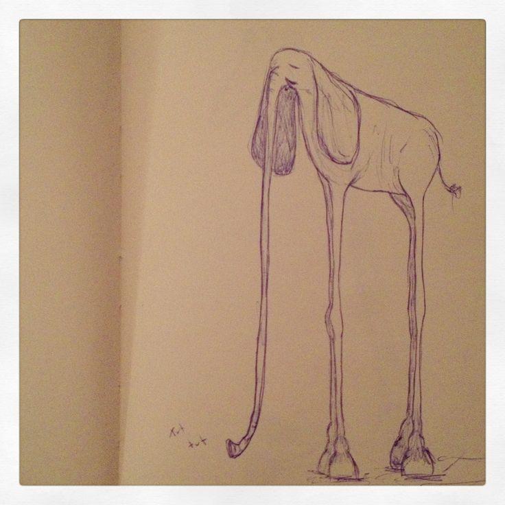 Fantasy elephant.