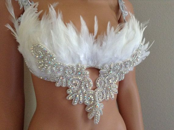 Adult White Angel 32B Crystal AngelHalloween by CuteAddicts
