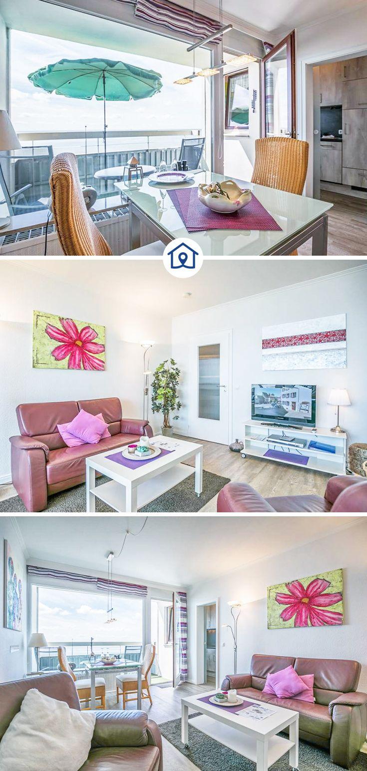 Ferienwohnung In Busum Mit Grossem Sudbalkon Und 100 Meerblick Ferienwohnung Busum Wohnung