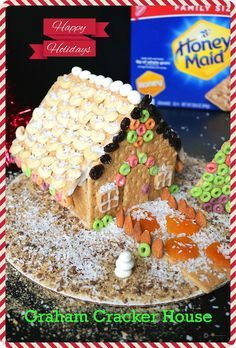 There can be no better holiday activity for the kids or a cute gift idea than making / decorating a Gingerbread House. Using Honey Maid Graham Crackers to build one is a real time saver. Made a simple icing which used no eggs or milk and is naturally vegan. And for the decorations chose to skip all candies and used items like cashews, dry fruits, etc to build something which is better for your kids. ‪#‎ad‬ ‪#‎HoneyMaidHouse‬  The Ultimate Pinterest Party, Week 78