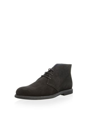75% OFF The Generic Man Men's Florentine Suede Chukka (Black)