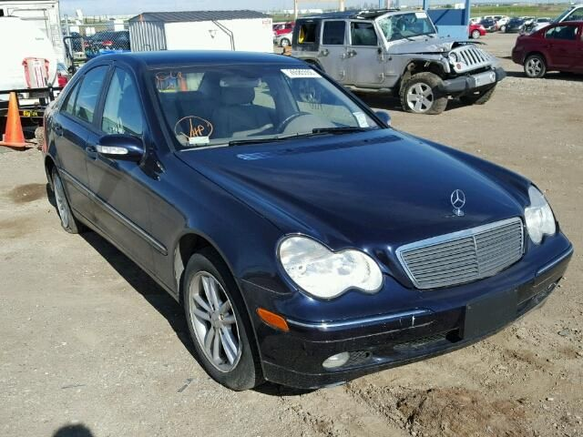 2004 #MERCEDES-BENZ C240 M AWD 2.6L 6 for Sale at #Copart Auto Auction. Register to Bid Now.