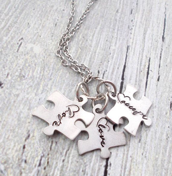 Hey, I found this really awesome Etsy listing at https://www.etsy.com/listing/540216692/personalized-puzzle-piece-hope-love