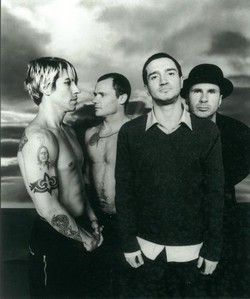 Red Hot Chili Peppers. GREAT BAND. LOVE them, they also pump me up and keep me energized.