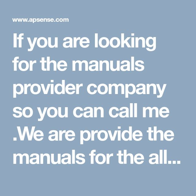 If you are looking for the manuals provider company so you can call me .We are provide the manuals for the all type machines and equipment's .We offer you service manual for the Volvo wheel loader .In our  Volvo Impact We provide complete information about services ,detailed instruction on repair, preventative maintenance, troubleshooting process, and others.