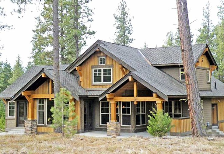 Marvelous Mountain Home - 23483JD   1st Floor Master Suite, Bonus Room, Butler Walk-in Pantry, CAD Available, Corner Lot, Craftsman, Loft, Mountain, Northwest, PDF, Photo Gallery, Vacation   Architectural Designs