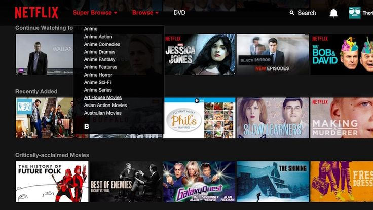 Super Browse Integrates Those Secret Netflix Categories Into the Netflix Search Page
