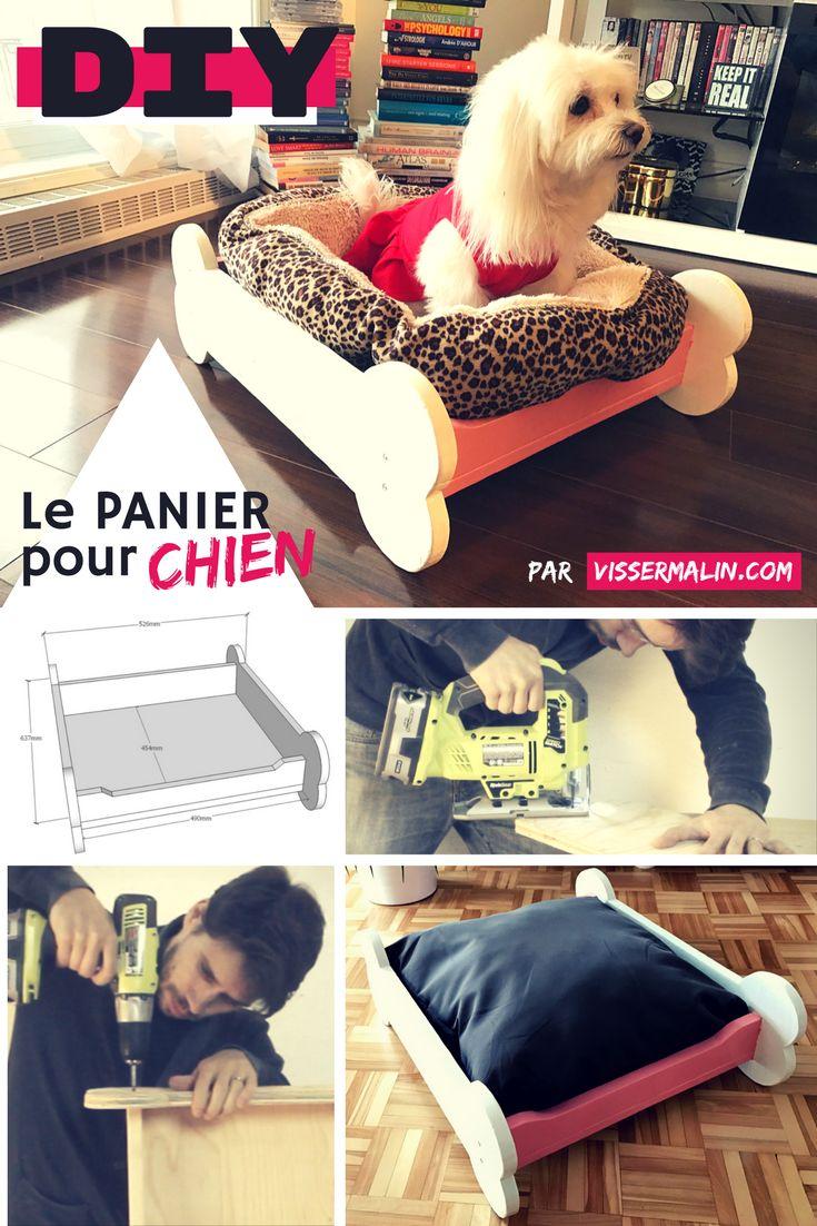 17 meilleures id es propos de panier chien sur pinterest - Comment fabriquer un lit pour chat ...