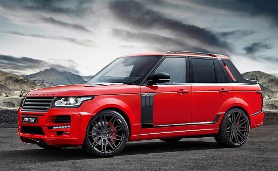 WEB LUXO - Carros de Luxo: Preparadora exibe Range Rover picape no salão de Xangai