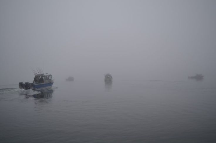 Misty day in September in Alaska, Admiralty Island, Cannery Cover Admiralty Island National Monument